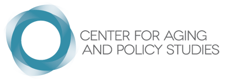 Center for Aging and Policy Studies Logo
